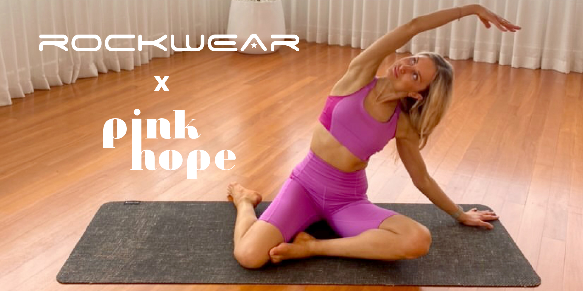Rockwear & Pink Hope Pilates Session
